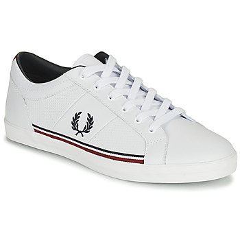 Skor Herr Sneakers Fred Perry B722 Vit