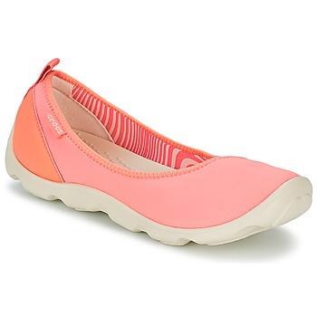 Skor Dam Ballerinor Crocs DUET BUSY DAY FLAT Orange