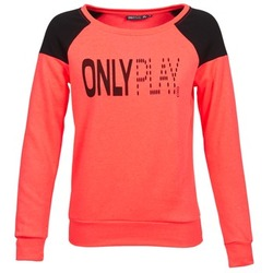 textil Dam Sweatshirts Only Play MAKAYLA TOP Korall