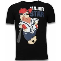 textil Herr T-shirts Local Fanatic Major Star Svart