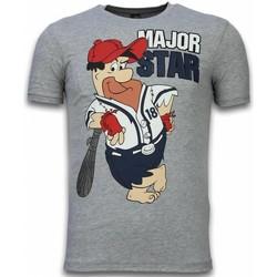 textil Herr T-shirts Local Fanatic Major Star Grå