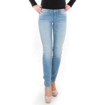 textil Dam Skinny Jeans Wrangler Caitlin Blue Baloo W24CH145X blue