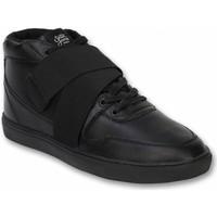 Skor Herr Höga sneakers Sixth June S Skor Sneakers Nation Strap Svart