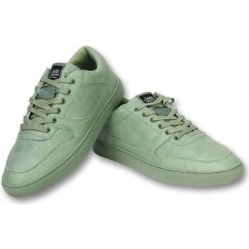 Skor Herr Sneakers Sixth June Herrskor För Sneakers Seed Essential Oliv Grön