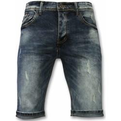 textil Herr Shorts / Bermudas True Rise Jeans Shorts Shorts Blå