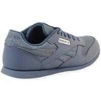 Skor Barn Sneakers Reebok Sport Classic Leather Deep Gråa