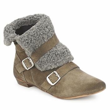 Skor Dam Boots Bronx CREPOU Brun / Grå