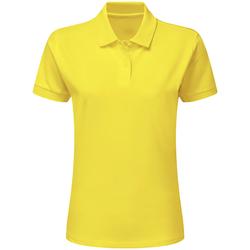 textil Pojkar Kortärmade pikétröjor Sg SG59K Gul