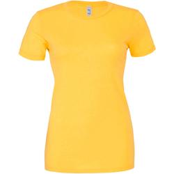textil Dam T-shirts Bella + Canvas BE6004 Gul