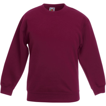 textil Barn Sweatshirts Fruit Of The Loom 62041 Bourgogne