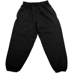 textil Barn Joggingbyxor Jerzees Schoolgear 750B Svart