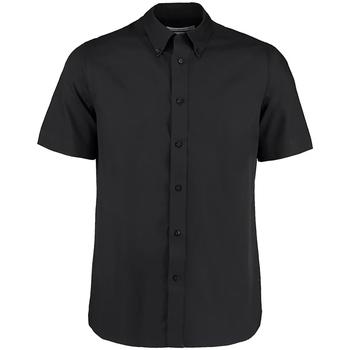 textil Herr Kortärmade skjortor Kustom Kit KK385 Svart