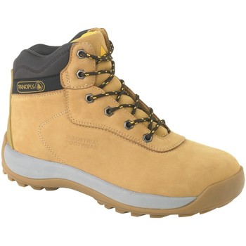 Skor Herr safety shoes Delta Plus DELTA-LH840SM Tan