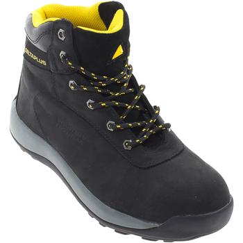 Skor Herr safety shoes Delta Plus DELTA-LH842SM Svart