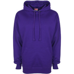 textil Herr Sweatshirts Fdm FH001 Lila