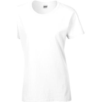 textil Dam T-shirts Gildan Missy Fit Vit