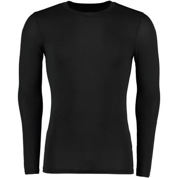 textil Herr Långärmade T-shirts Gamegear Warmtex Svart