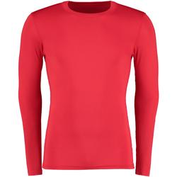 textil Herr Långärmade T-shirts Gamegear Warmtex Röd