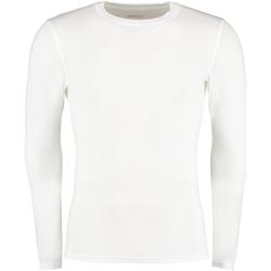 textil Herr Långärmade T-shirts Gamegear Warmtex Vit