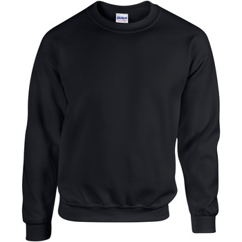 textil Sweatshirts Gildan 18000 Svart