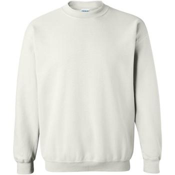 textil Sweatshirts Gildan 18000 Vit