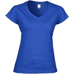 textil Dam T-shirts Gildan Soft Style Kungliga