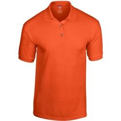 textil Herr Kortärmade pikétröjor Gildan 8800 Orange