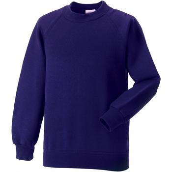 textil Barn Sweatshirts Jerzees Schoolgear 7620B Lila