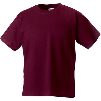 textil Barn T-shirts Jerzees Schoolgear ZT180B Bourgogne