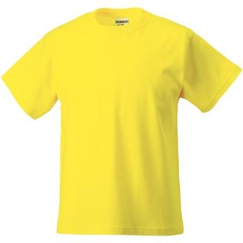 textil Barn T-shirts Jerzees Schoolgear ZT180B Gul