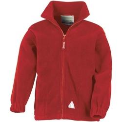 textil Barn Fleecetröja Result R36JY Röd