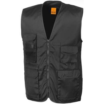 textil Herr Koftor / Cardigans / Västar Result R45X Svart