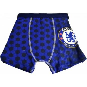 Underkläder Pojkar Boxershorts Chelsea Fc  Blå