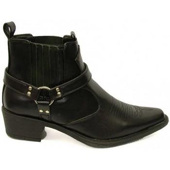 Skor Herr Boots Us Brass  Svart