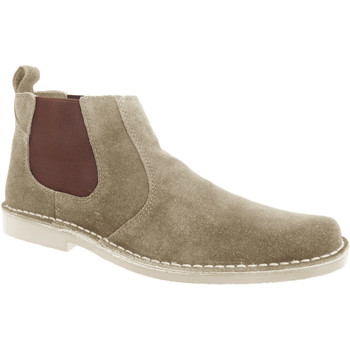 Skor Herr Boots Roamers  Taupe