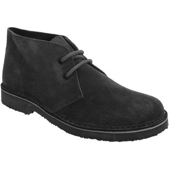 Skor Dam Boots Roamers Round Toe Svart