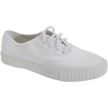 Skor Pojkar Sneakers Dek  Vit