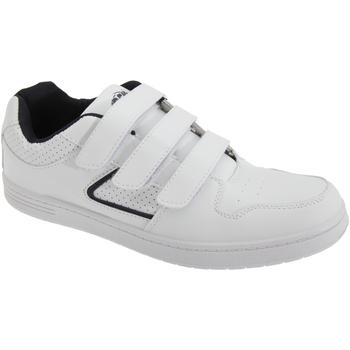Skor Herr Sneakers Dek Charing Cross Vit