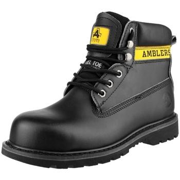 Skor Dam safety shoes Amblers FS9 Svart