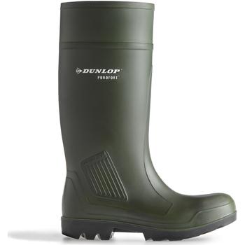 Skor Herr safety shoes Dunlop Purofort PRO SAFETY C462933 (BOX) Grön