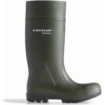 Skor Herr safety shoes Dunlop D460933 Purofort PRO Non-Safety Grön