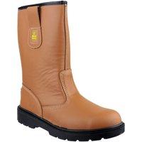 Skor Herr safety shoes Amblers 124 S3 Tan