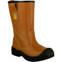 Skor Herr safety shoes Amblers 142 S3 Tan