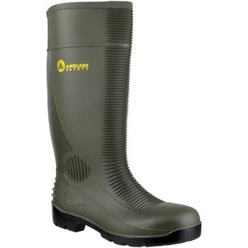 Skor Herr safety shoes Amblers FS99 Safety Green Wellingtons Grön