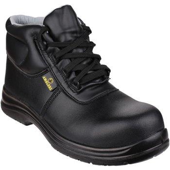 Skor Herr safety shoes Amblers FS663 Safety ESD Boots Svart