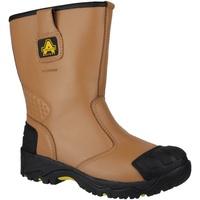 Skor Herr safety shoes Amblers FS143 Tan