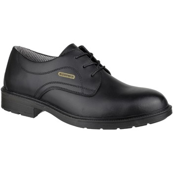 Skor Herr Snörskor Amblers FS62 Waterproof Safety Shoes Svart