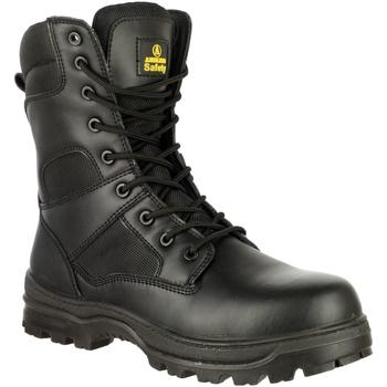 Skor Herr safety shoes Amblers FS008 Safety Boots (Euro Sizing) Svart