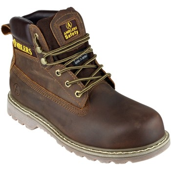 Skor Herr safety shoes Amblers FS164 Safety Boots Brun