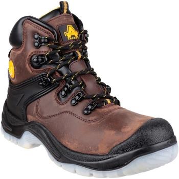 Skor Herr safety shoes Amblers FS197 BROWN WATERPROOF S3 BOOT Brun